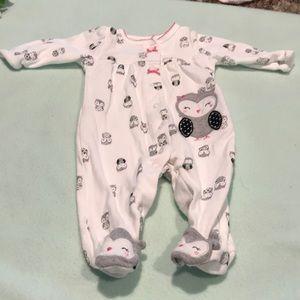 0-3 baby pajamas